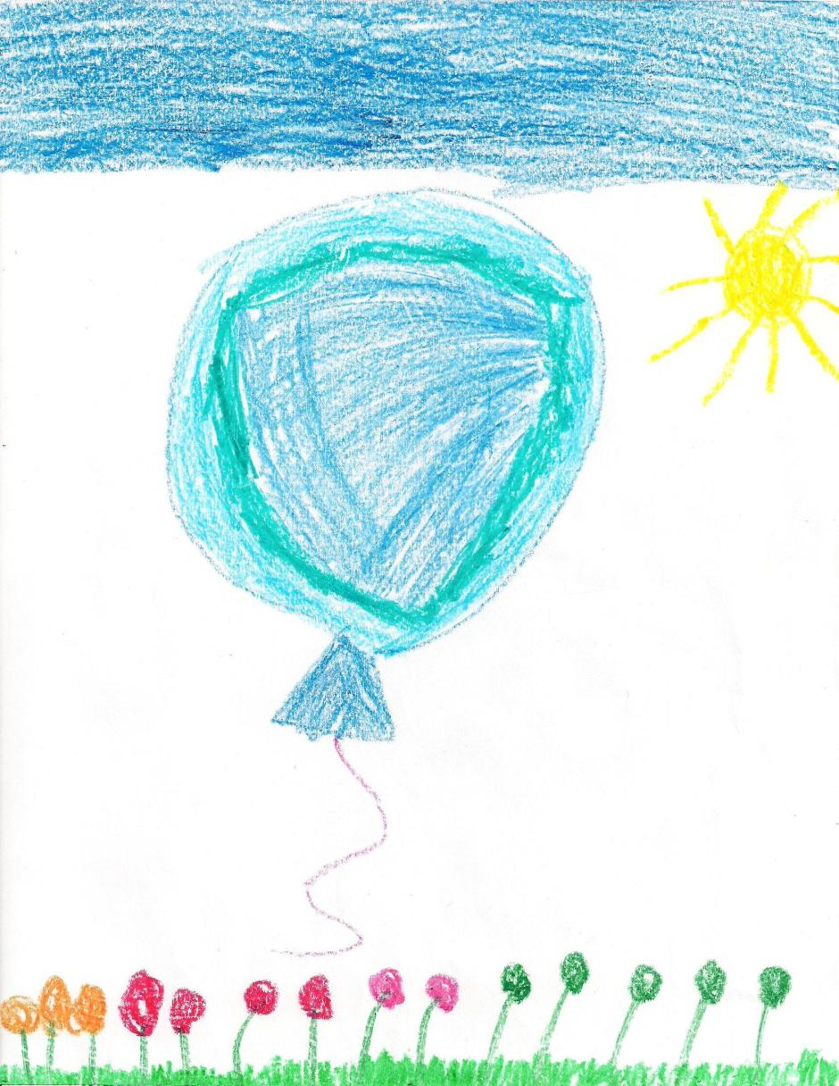 Blue Balloon by Omelette (not the one that made me cry, but rather warmed my heart)